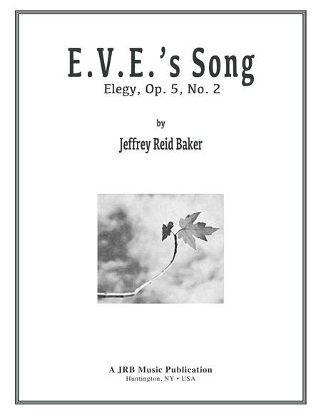 EVE SONG: Elegy Op. 5, No.2