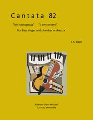 Cantata 82 for Bass voice & chamber orchestra