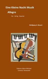 Allegro from Eine Kleine Nacht Musik for string quartet
