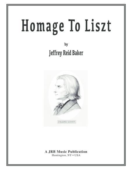 Homage to Liszt, Op.1 - Grand Tarantella