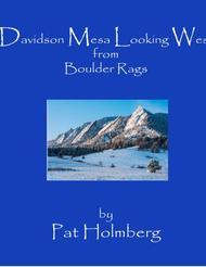 Davidson Mesa Looking West
