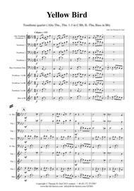 Yellow Bird - Haitian Folk Song - Calypso - Trombone quartet