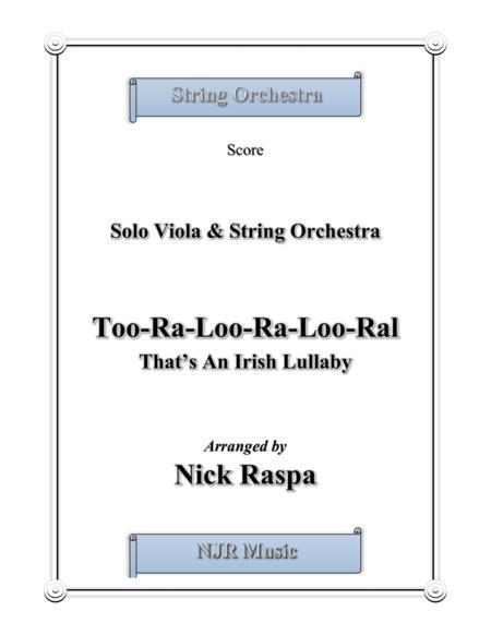 Too-ra-loo-ra-loo-ral, That's an Irish Lullaby - Full Set