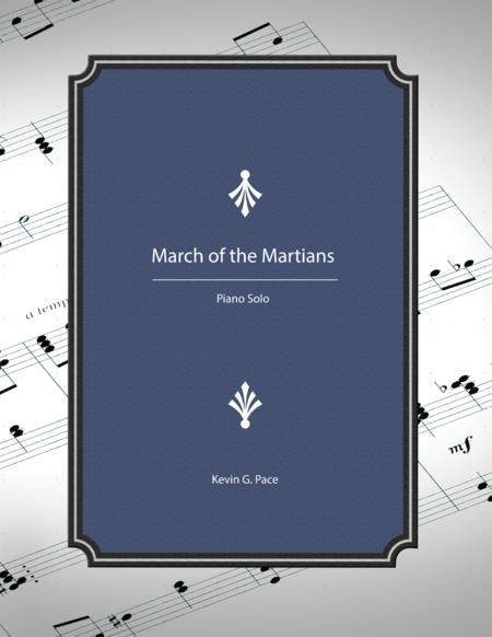 March of the Martians - piano solo
