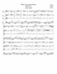 Gute Nacht from Motet: Jesu, meine Freude, BWV 227 (arrangement for 4 recorders)