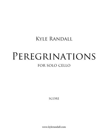 Peregrinations for solo cello