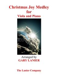 Gary Lanier: CHRISTMAS JOY MEDLEY (Viola/Piano and Viola Part)