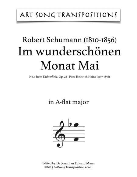 Im wunderschönen Monat Mai, Op. 48 no. 1 (A-flat major)