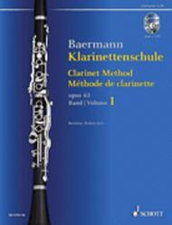 Clarinet Method op. 63 Band 1: No. 1-33