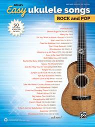 Alfred's Easy Ukulele Songs -- Rock & Pop