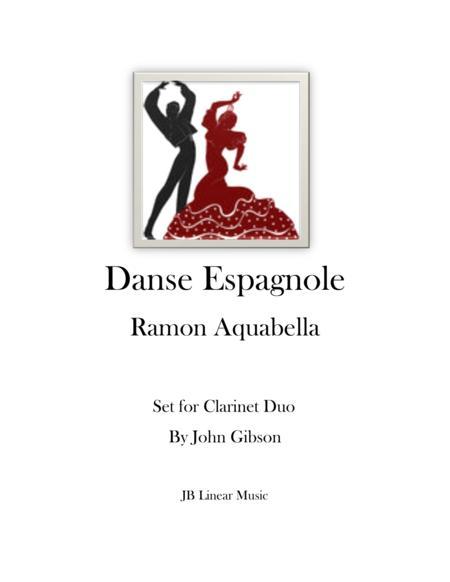 Danse Espagnole for Clarinet Duet