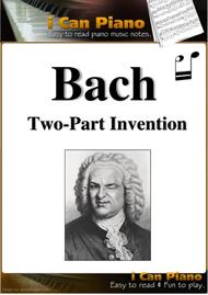 15 Bach inventions iCanPiano Style