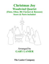 Gary Lanier: CHRISTMAS JOY (Woodwind Quartet/Score and Parts)