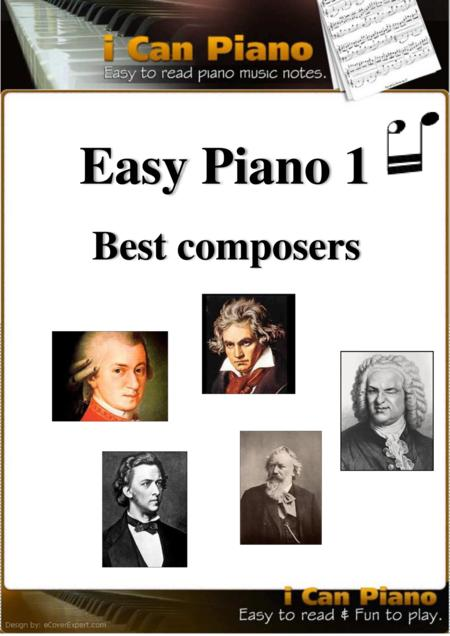Easy Piano 1 iCanPiano Style