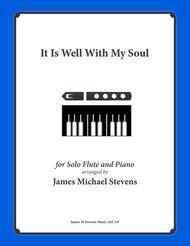 It Is Well With My Soul (Solo Flute, Piano)