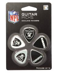 Oakland Raiders Guitar Picks