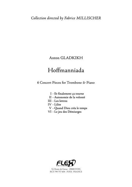 Hoffmanniada: 6 Concert Pieces