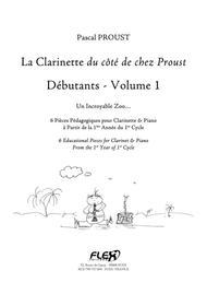 The Clarinet du cote de chez Proust - Beginners - Volume 1