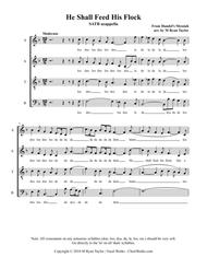 Download He Shall Feed His Flock : SATB Acapella Sheet Music