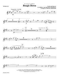 Boogie Down - Bb Tenor Saxophone