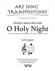 O Holy Night (D major)
