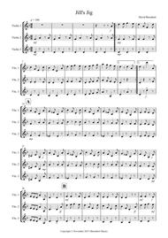 Jill's Jig for Violin Trio