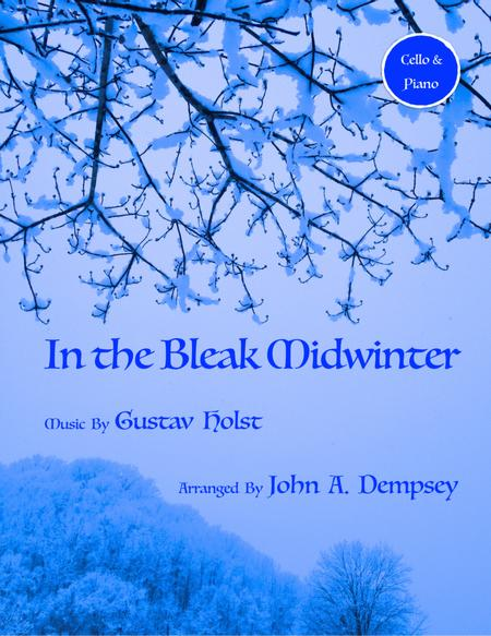 In the Bleak Midwinter (Cello and Piano Duet)