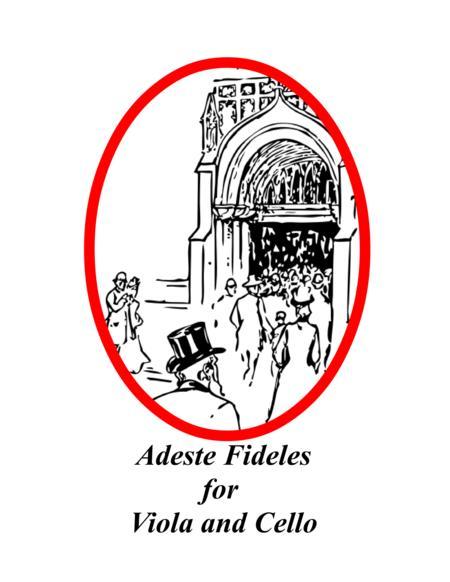 Adeste Fideles for Viola and Cello