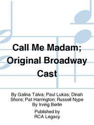 Call Me Madam; Original Broadway Cast