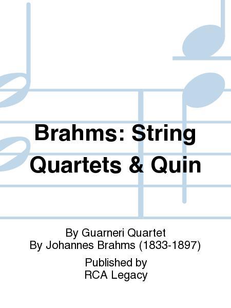 Brahms: String Quartets & Quin