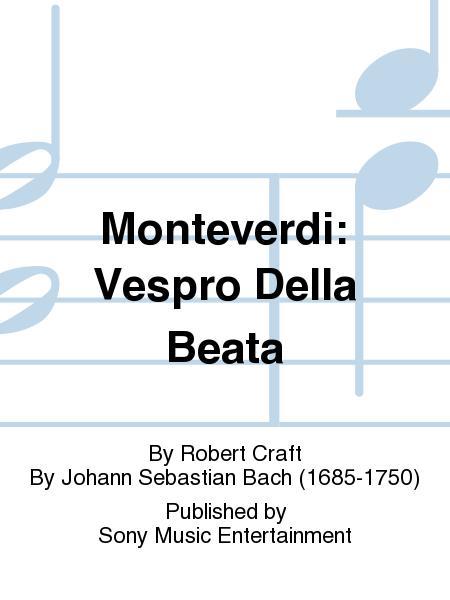 Monteverdi: Vespro Della Beata