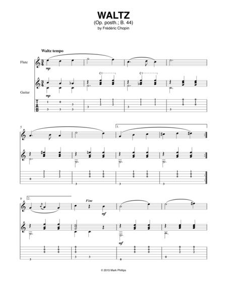 Waltz in E Major (Op. posth.; B .44)