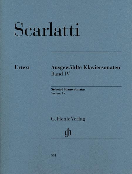 Selected Piano Sonatas, Volume IV