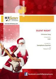 Silent Night - Stille Nacht - Jazz Waltz - Saxophone Quartet