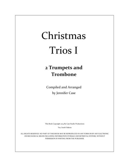 Christmas Trios I - 2 Trumpets and Trombone