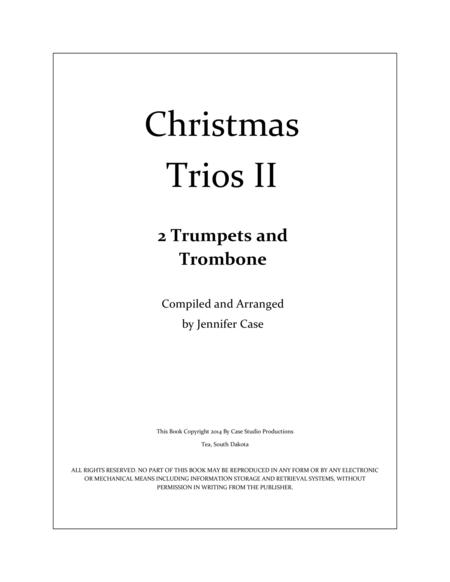 Christmas Trios II - 2 Trumpets and Trombone