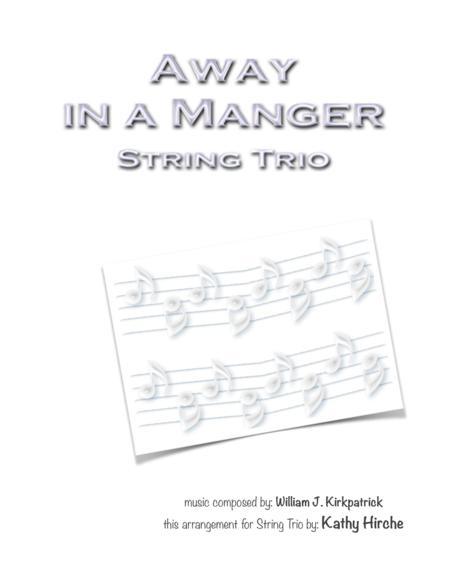 Away in a Manger - String Trio