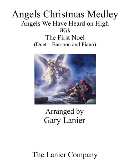Gary Lanier: ANGELS CHRISTMAS MEDLEY (Duet – Bassoon & Piano with Parts)