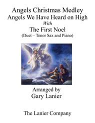 Gary Lanier: ANGELS CHRISTMAS MEDLEY (Duet – Tenor Sax & Piano with Parts)