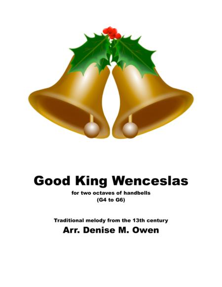 Good King Wenceslas for two octaves of handbells
