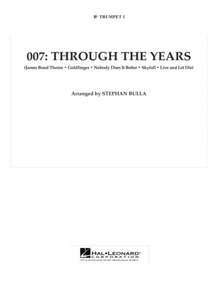 007: Through The Years - Bb Trumpet 1