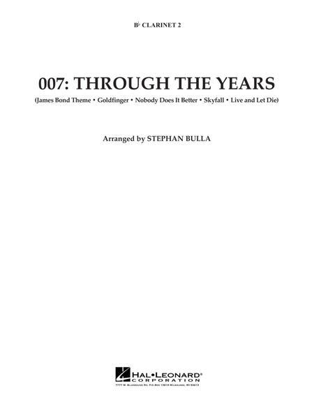 007: Through The Years - Bb Clarinet 2