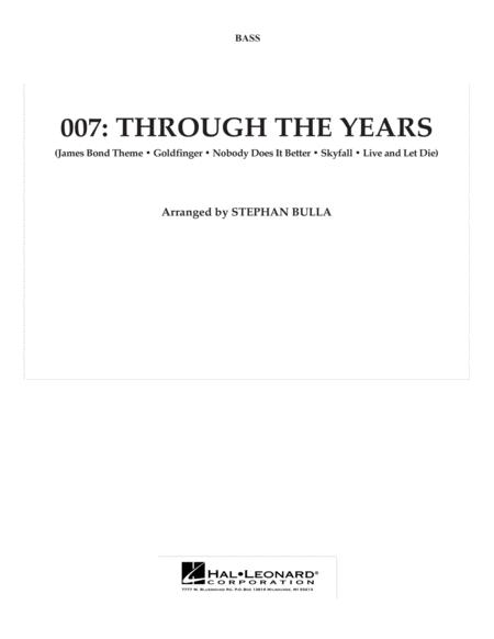 007: Through The Years - String Bass