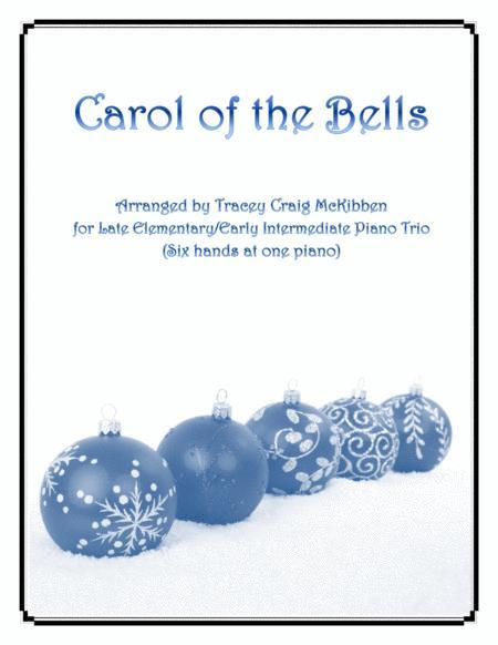 Carol of the Bells (Easy Piano Trio - 1 piano 6 hands)