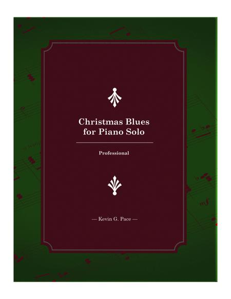 Christmas Blues for Piano Solo (Professional)