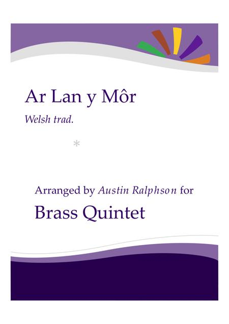 Ar Lan y Mor (By The Sea) - brass quintet