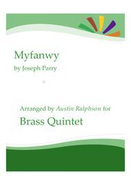 Myfanwy - brass quintet