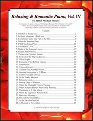 Relaxing & Romantic Piano, Vol. IV