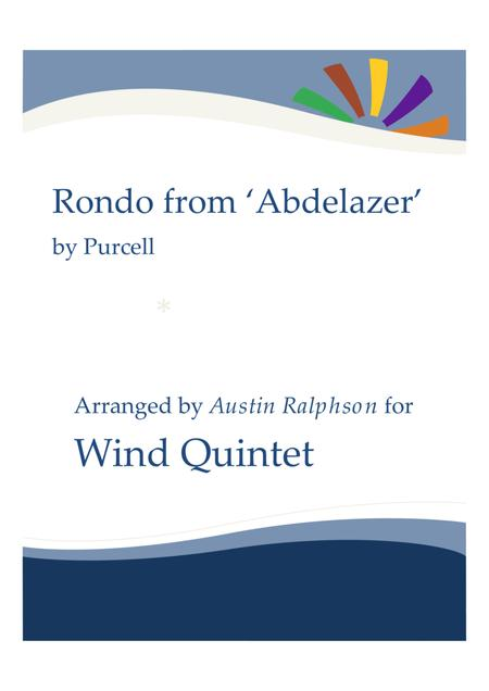 Rondo from The Abdelazer Suite - wind quintet