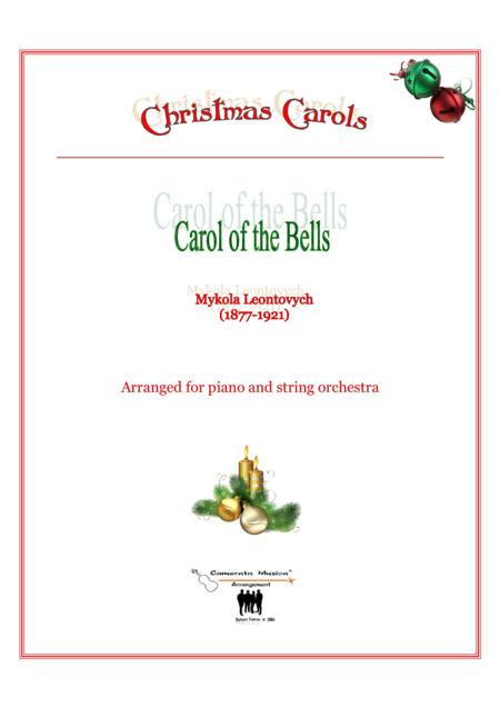 Carol of the Bells for Piano and String orchestra